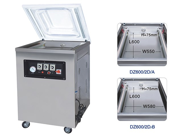 DZ(Q)600/2D Single-chamber vacuum machines