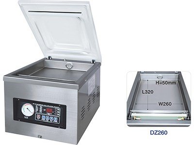 DZ260 Vacuum packing machine(Mini table model)
