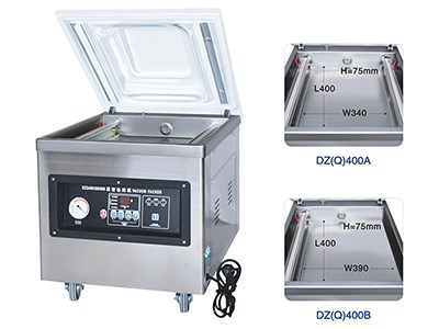 DZ(Q)400 Vacuum packing machine( Table model)
