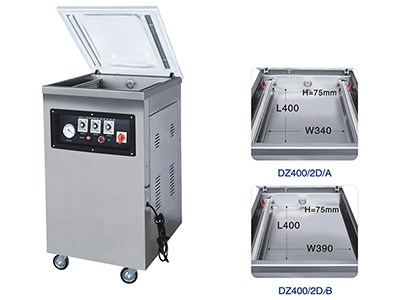 DZ(Q)400/2D Single-chamber vacuum machines