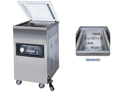DZ400/2D Single-chamber vacuum machines
